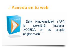 ACCEDA en tu web