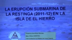 La erupción submarina de La Restinga (2011-2012) en la isla de El Hierro