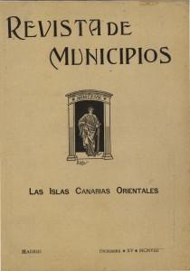 """""""Las Islas Canarias Orientales"""" en mdC (1908)"""