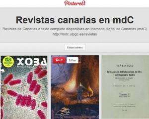 Revistas de mdC en Pinterest