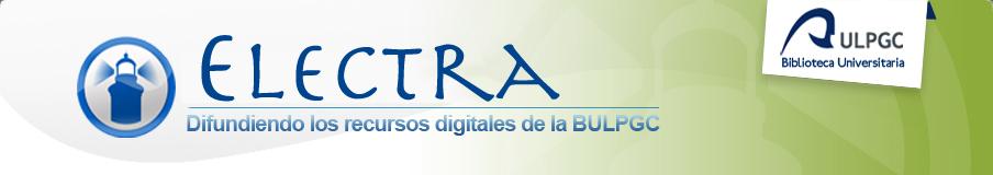 Electra. Recursos digitales de la Biblioteca Universitaria de la ULPGC