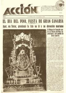 Portada Periódico Accion Las Palmas