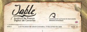 Archivo de prensa digital de Canarias