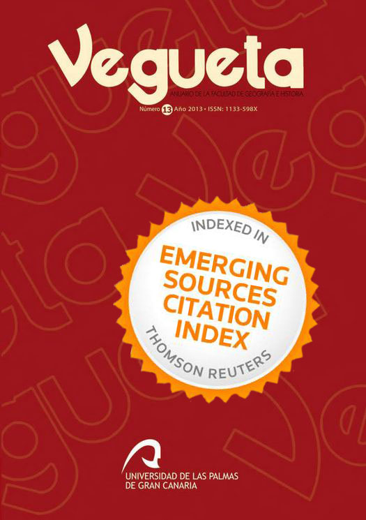 Vegueta, incluida en Emerging Sources Citation Index