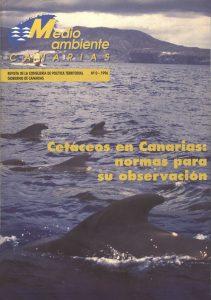 Portada de la Revista Medio Ambiente Canarias