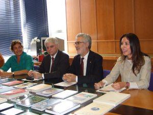 Firma del convenio de colaboración con la Viceconsejería de Medio Ambiente