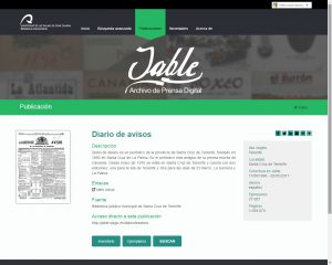 Ficha de publicación en JABLE