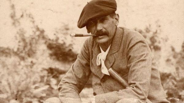 Fotografía del escritor propiedad de la Familia Pérez-Galdós que se expone en la Casa-Museo Pérez Galdós